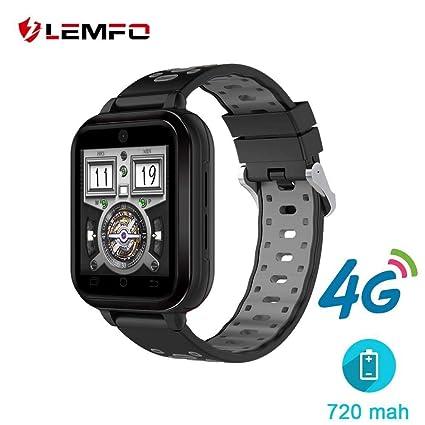 Amazon.com: LEMFO 4G Smart Watch 1GB+8GB MTK6737 Android 6.0 ...