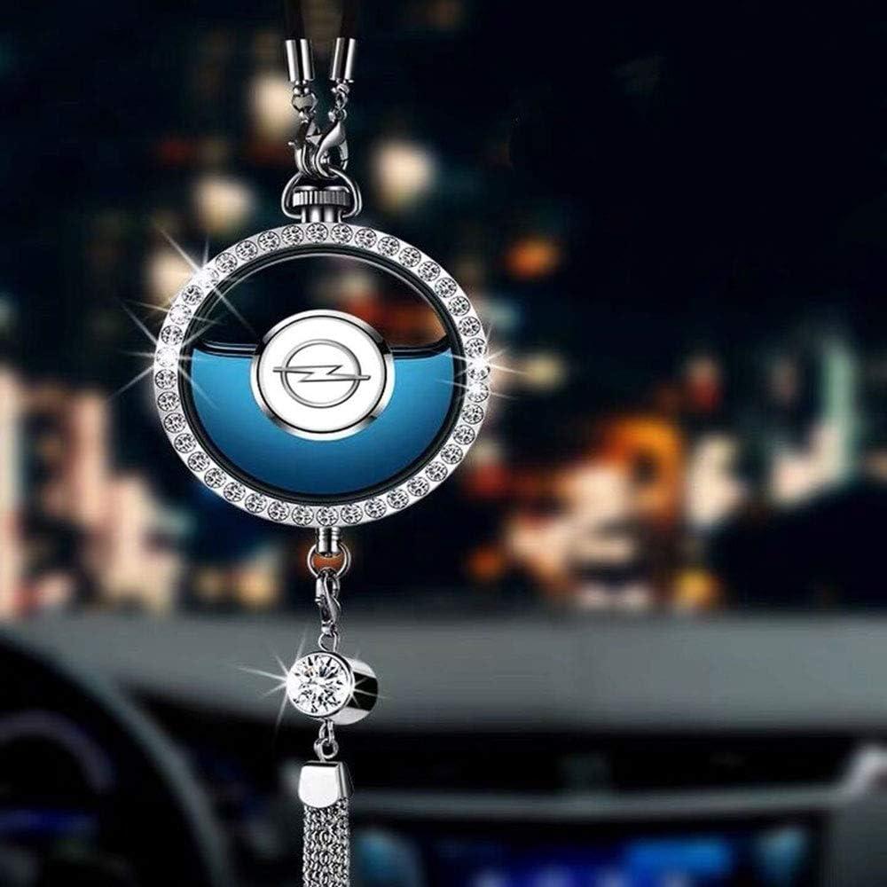 Parfüm Lufterfrischer Mit Kristall Auto Logo Auto Rückspiegel Anhänger Hängeverzierung Dekoration Auto
