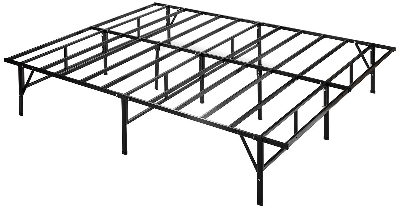 Zinus Dawn 14 Inch Easy To Assemble SmartBase Mattress Foundation / Platform Bed Frame / Box Spring Replacement, Queen by Zinus