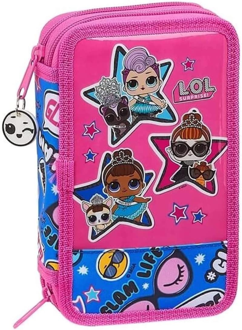 LOL Surprise Mochila de deporte, estuche y estuche para niñas, juego de mochila L.O.L.: Amazon.es: Equipaje