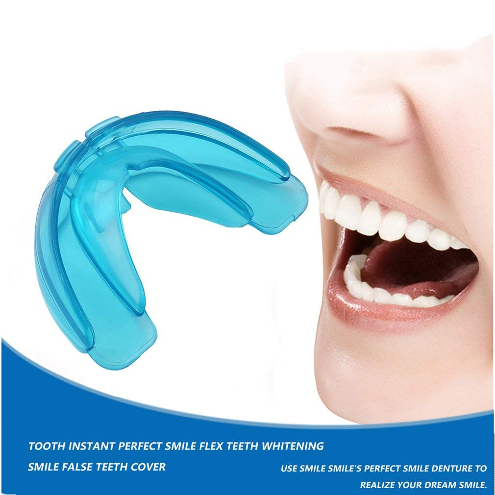 Queenaal Allineamento dellistruttore per apparecchi ortodontici per Denti Nuovi Denti per apparecchi per Adulti Blu