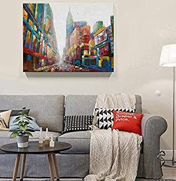 Farbe Dicke Olgemalde Abstrakte Texturen Von Blick Moderne