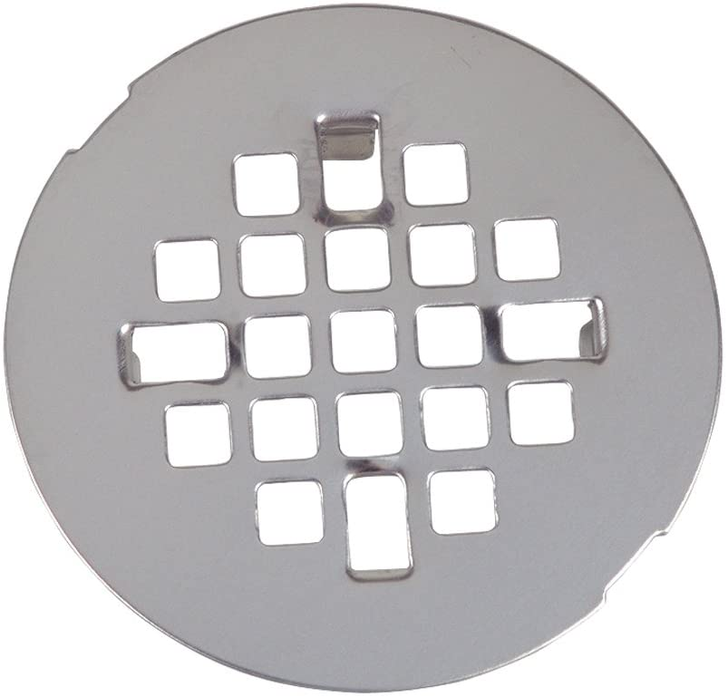 Danco 89088 Snap-In Style Shower Drain, For Use With Cast Iron, Plastic and Clay Tile Pipes, Stainless Steel