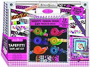 Fashion Angels Tapefitti Tape Art Craft Tote Kit