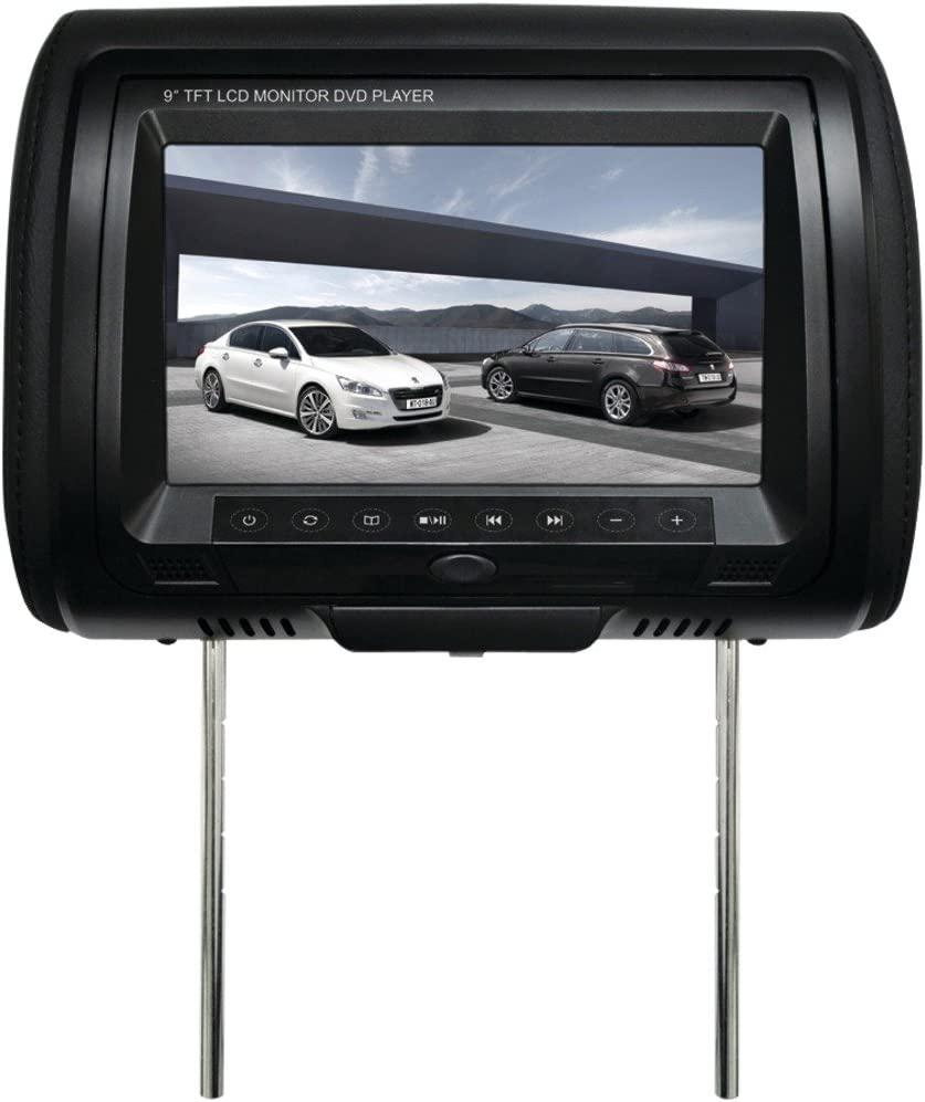 "Chameleon CLD-700 7/"" wide car headrest monitor with disc player"