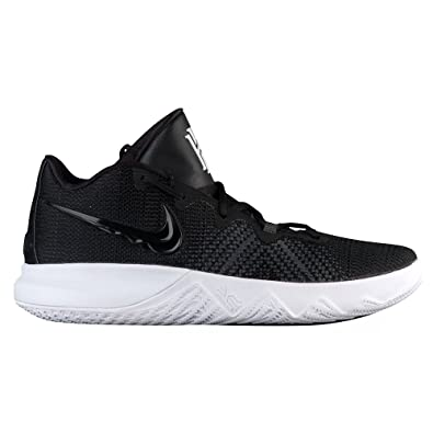Nike PerformanceKYRIE FLYTRAP - Basketball shoes - black/white/volt GVTbdNtZp