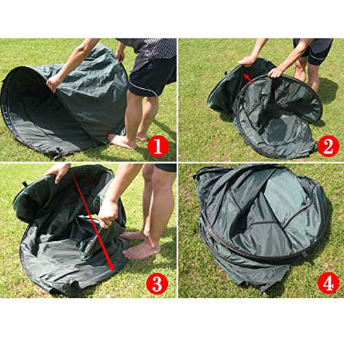 Generic YC-US2-160128-185 <8&30811> ouflageg Toilet Ch Toilet Changing Tent Portable Pop UP Camping Room Fishing & Bathing Camouflage Portable Po by Generic (Image #8)