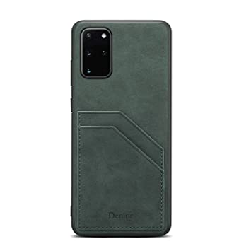 PU Leather Flip Cover Compatible with iPhone 11 Green Wallet Case for iPhone 11