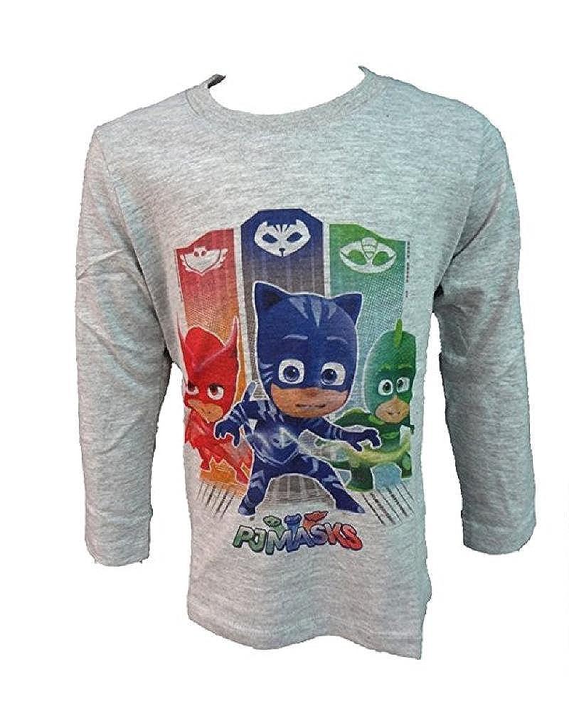 Maglietta Manica Lunga Pjmasks SuperPigiamini T-shirt Pj Masks PS 25454 Super pigiamini