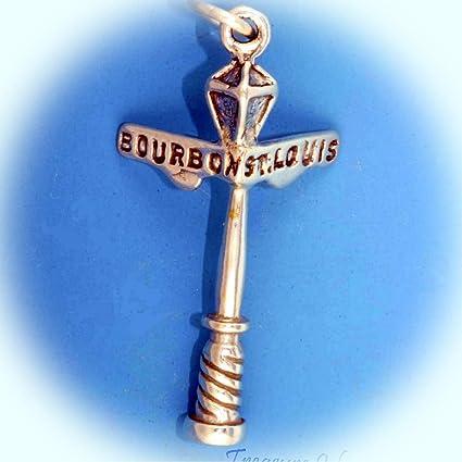 Amazon Com New Orleans Lamp Post Sign Bourbon Street St Louis 3d