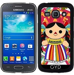 Funda para Samsung Galaxy ACE 3 S7272/A7275 - Mexican Doll 2 ( Muñeca Maria) by Los dibujos de Alapapaju
