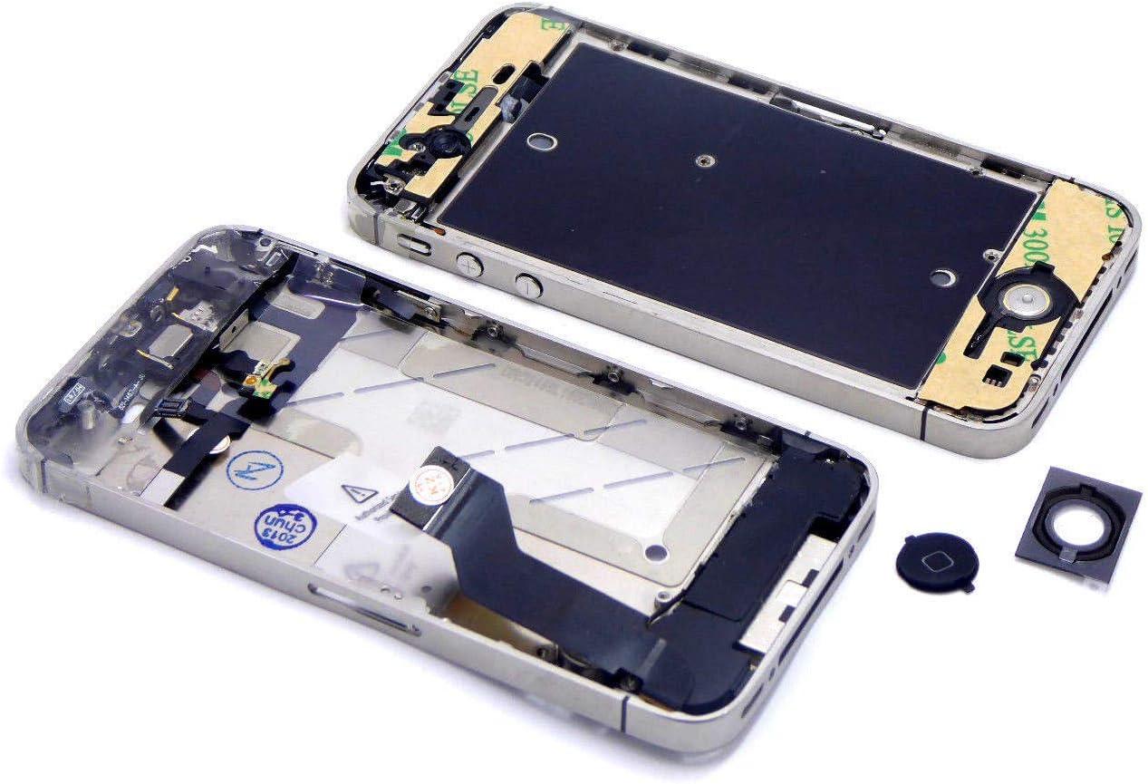 Handywest APPLE iPhone 4S marco central carga Power Flex Middle Bezel Frame Completo