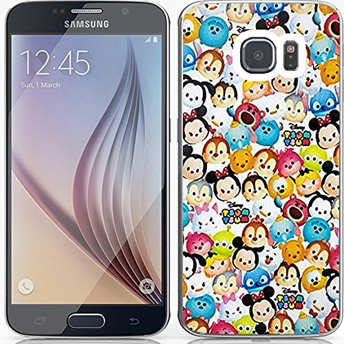 the cute of dis tsu tsu variety bathtowel towel character for Samsung Galaxy S7 White RUBBER (Cartoons Characters)
