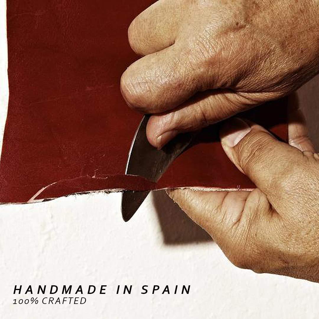 La Portegna Cartera Billetero Humphrey de piel cl/ásica dise/ño artesanal de alta calidad.