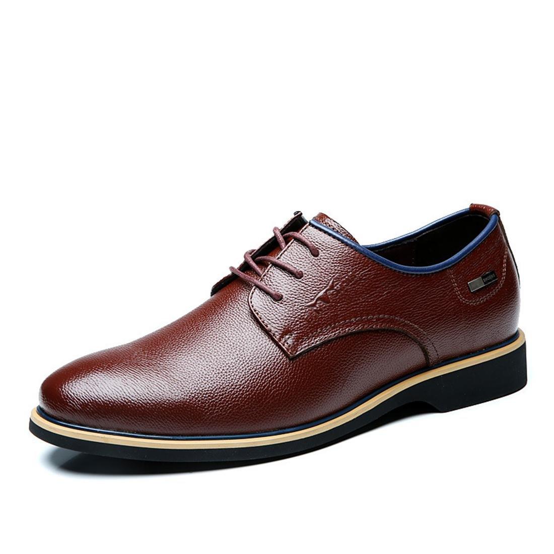 Herren Mode Geschäft Lederschuhe Geschäft Formelle Kleidung Flache Schuhe Rutschfest Gemütlich Spitz EUR GRÖSSE 38-44