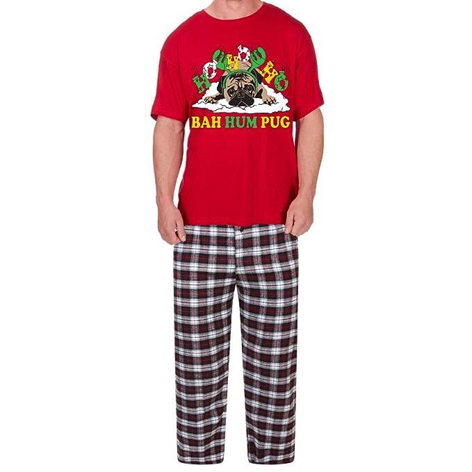 Style It Up - Pijama - para Hombre Bah Humpug - Burgundy M
