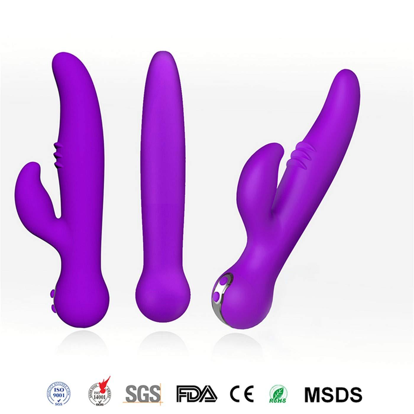 Plug Beads Toys Vibrator Vibrator Female AV Vibrating Vagina Clitoral Vaginal Anal Plug Tail Big Massage Stick Bluetooth Remote APP Control Sex Toy for Woman Orgasm Silicone Dildos Purple