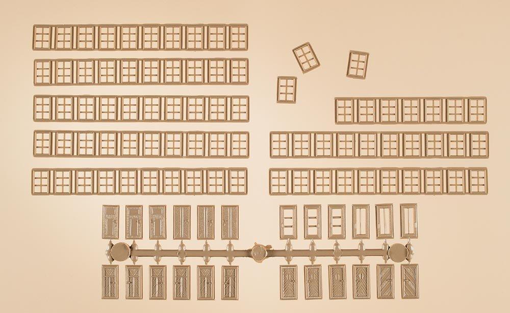 Auhagen 48650 Mullion Windows//Doors Modelling Kit