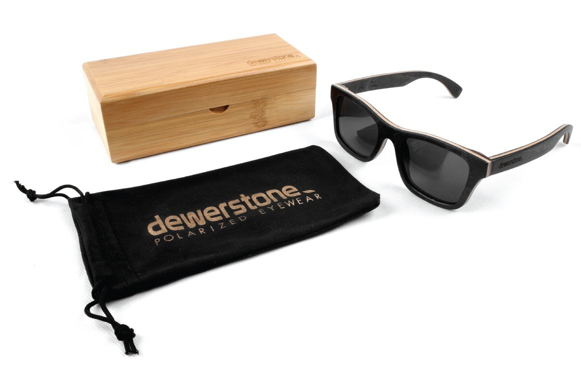 9616a0646b4 Dewerstone The Orton Wooden Sunglasses - Carl Zeiss Polarized Lenses   Amazon.co.uk  Sports   Outdoors