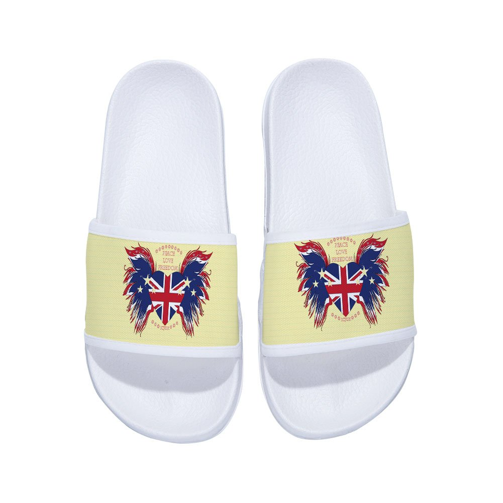 XINBONG Boys Girls Shower Shoes Bathroom Slippers Gym Slippers Soft Sole Open Toe House Slippers