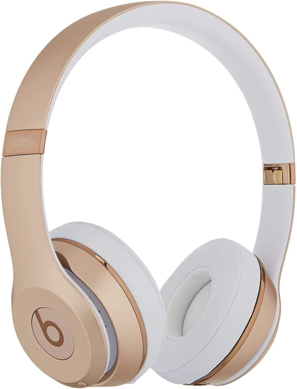 Amazon Com Beats By Dr Dre Beats Solo3 Wireless Headphones Gold Renewed Electronics