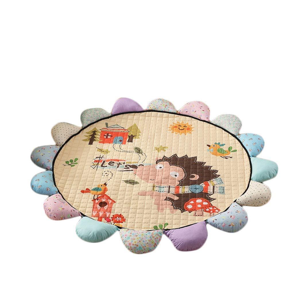 MRXUE Baby-Teppich, waschbar, groß, Rutschfest, weiche Spielmatte, Rutschfest, Dicker Teppich, Babyteppich zum Krabbelschutz, 177,9 cm B07K185PZR Teppiche Abgabepreis | Verschiedene