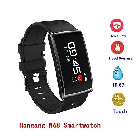 Amazon.com : Waterproof Smart Watch, Hangang Sport ...