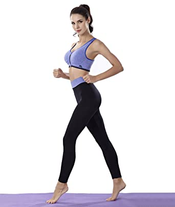 237da814a5d Sports Bra and Yoga Pants Gym Outfits Breathable Exercise Bra and Leggings  for Women (Sport