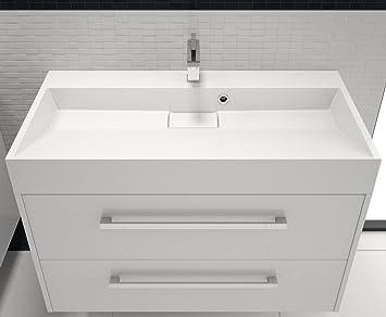 Design Waschbecken Waschtisch Badmöbel 90cm Mit Unterschrank