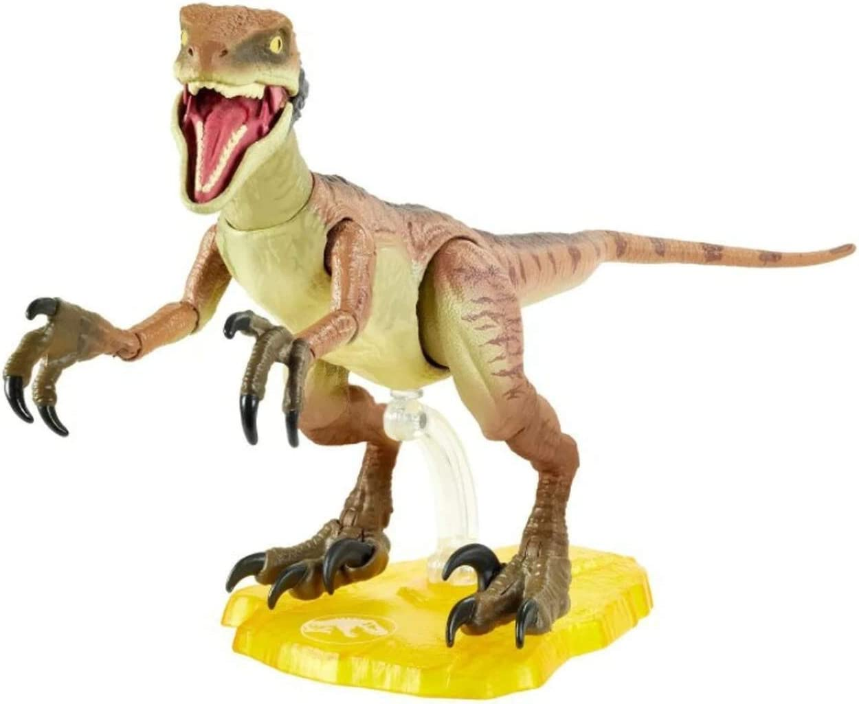 Jurassic World Velociraptor Echo 6-inches (15.24 cm) Collectible Action Figure with Movie-Authentic Detail, Movable Joints and Figure Display Stand; for Ages 8 and Up
