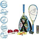 Speedminton S700 Set - Original Speed Badminton/crossminton All-Round Set That Includes 2 Rackets, 5 Speeder Tube…