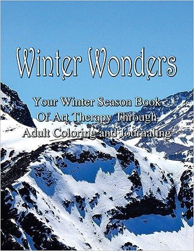 Adult Coloring Journal - Winter Wonders