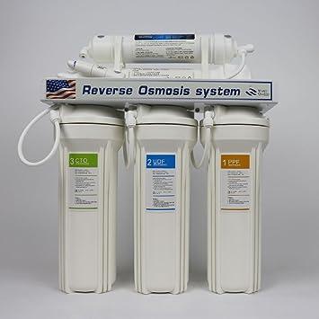 Práctico 5 Etapa sistema de ósmosis inversa agua potable purificador RO casa 15 Total filtros máquina cuidado de la salud: Amazon.es: Bricolaje y herramientas