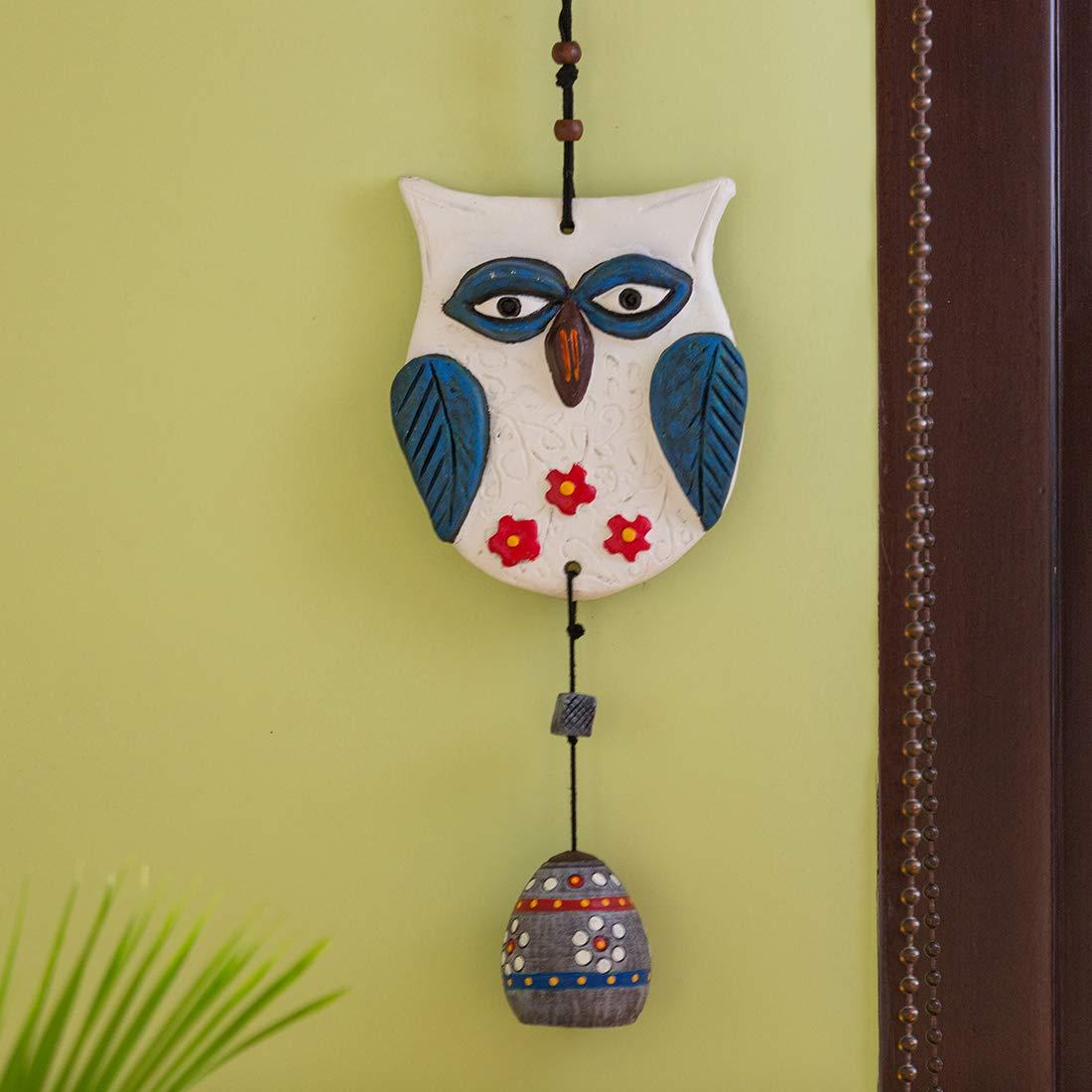 Buy ExclusiveLane Owl Handmade and Hand-Painted Garden Decorative