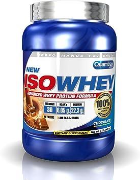 Quamtrax Proteína Iso Whey Sabor Chocolate- 907 gr
