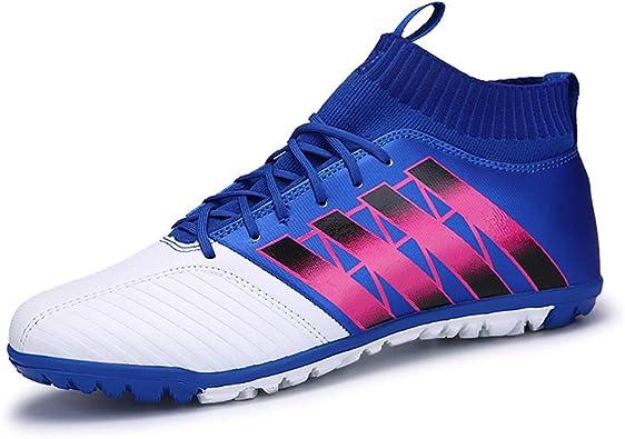 Zapatillas de fútbol para Hombre Césped Deportivo Atlético Zapatillas de fútbol de fútbol Zapatillas Deportivas para Correr al Aire Libre Impermeables para Correr Entrenadores de Fitness: Amazon.es: Zapatos y complementos