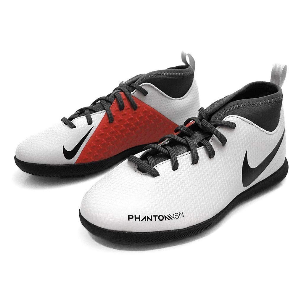Amazon.com | Nike - Phantom Vision Club DF IC JR - AO3293060 - Color: White-Grey - Size: 5.5 | Athletic