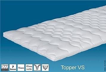 Hn8 Matratzen Topper Viskoschaum 80x220 Cm Amazon De Küche