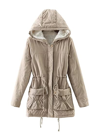 Anzhuangh New Winter Padded Coats Women Cotton Wadded Jacket Medium-Long Parka Thick Warm Plus