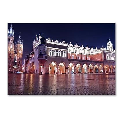 amazon com cafepress krakow main square postcards package of