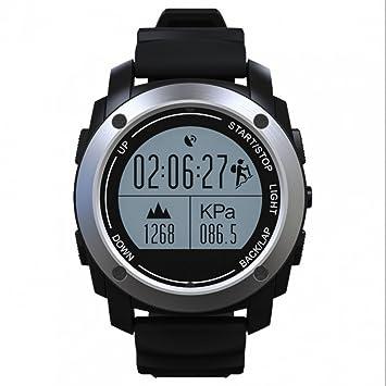 Reloj inteligente SmartWatch Reloj Deporte Bluetooth, rastreador sueño, metálico, de actividad Fitness,