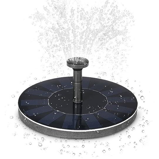 Anself pompe solaire Pompe à eau solaire Panneau solaire fontaine ...