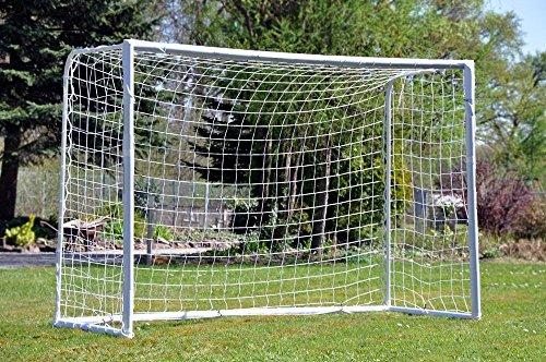 Askliy 1,8 x 1,2 m wetterfestes Fußballtor, 1 Jahr Garantie Netze erhalten [Gerade der Fußball Net,Just a net without posts]