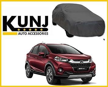 Kunj Autotech Premium Quality Car Body Cover For Honda Wrv Grey