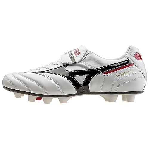 Mizuno - Botas de fútbol para Hombre Super White Pearl Black  Amazon.es   Deportes y aire libre 7080f1e699a0a
