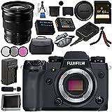 Fujifilm X-H1 Mirrorless Digital Camera (Body Only) 16568731 XF 10-24mm f/4 R OIS Lens 16412188 Bundle