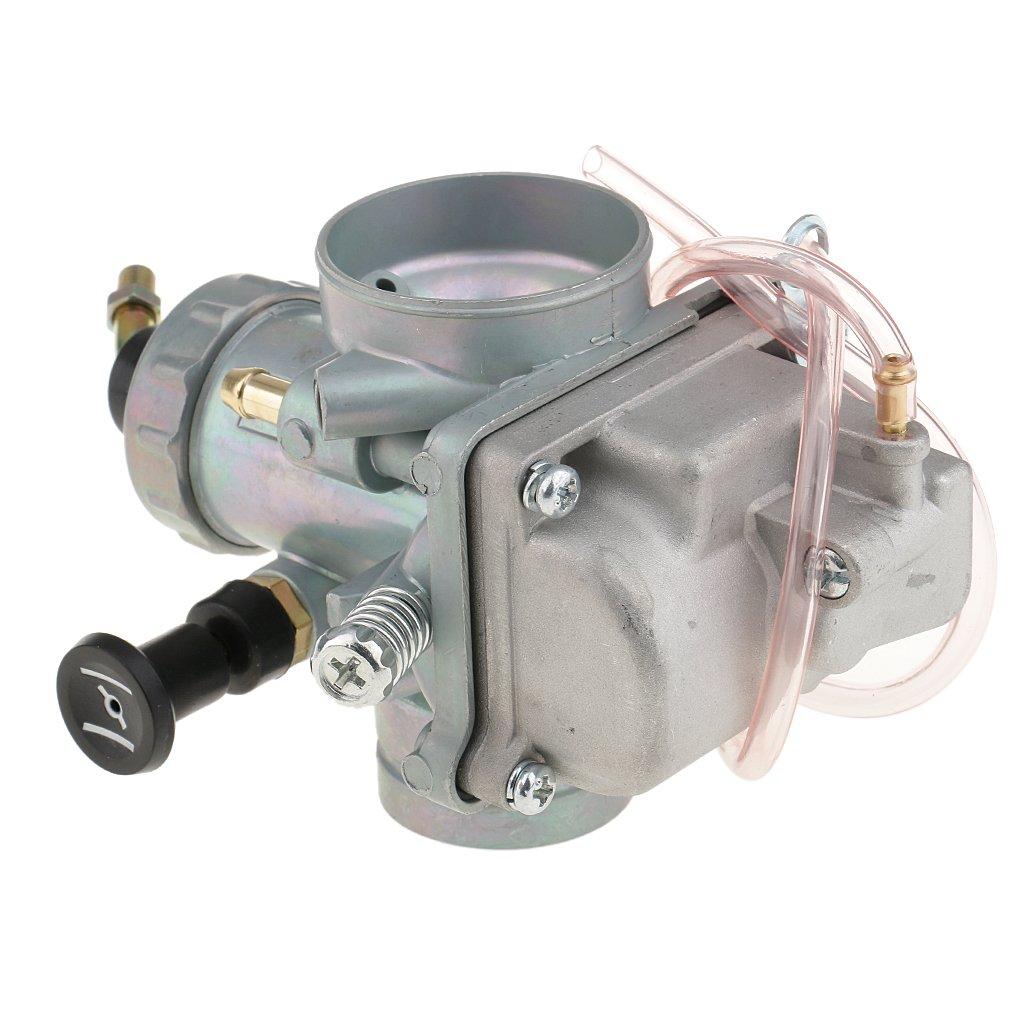 Sharplace 40mm Vergaser Carb Motorradk/örperteile /Ölleitungsteile F/ür Yamaha DT 125 TZR125
