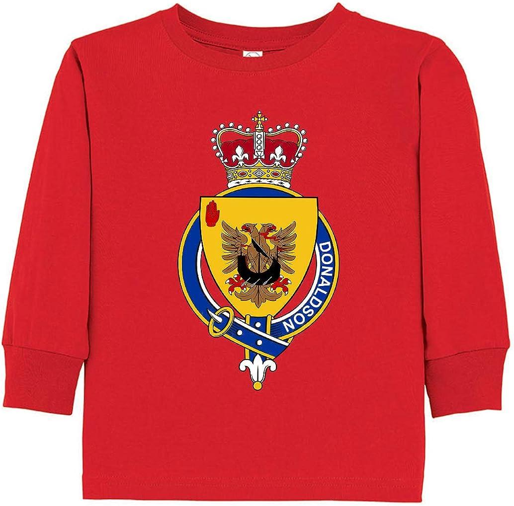 Tenacitee Toddlers Scottish Garter Family Donaldson Long Sleeve T-Shirt