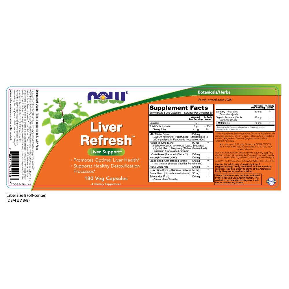 Amazon.com: NOW Foods - Desintoxicante y Regenerador de ...