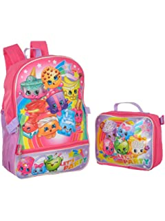 8d52527e4b56 Shopkins Girls Backpack with Lunch